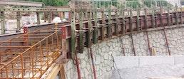 Schalungen für Strassenbau