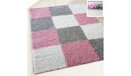 Shaggy Polyester Hochflor Teppich einfarbig Top Preis Harmony Kollektion 120x170