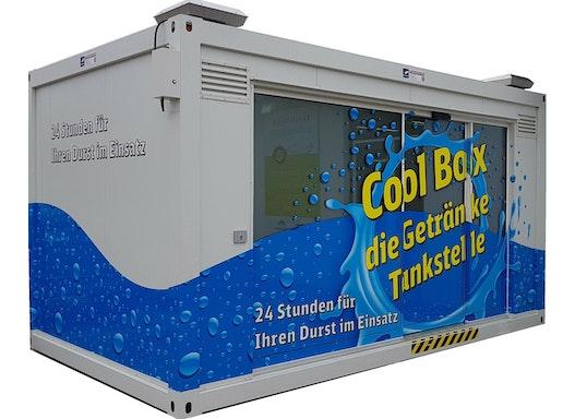 Cool-Box - gekühlter Verkaufsautomat
