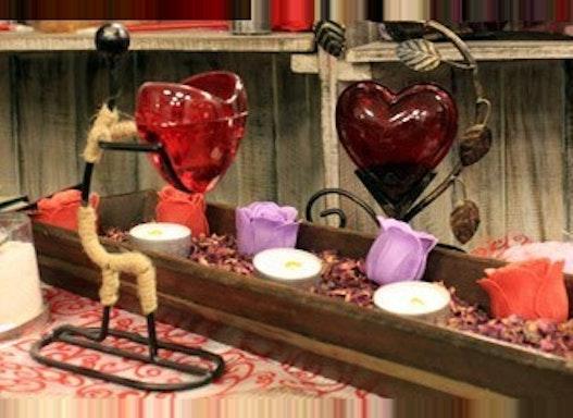 Romantische Kerzenhalter