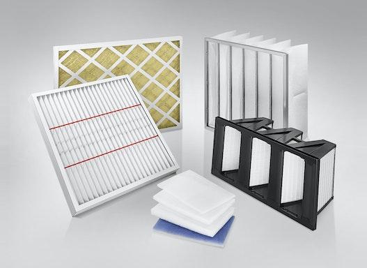 Luftfilter, Compactfilter, Taschenfilter, Filtermatten für Luft und Staub