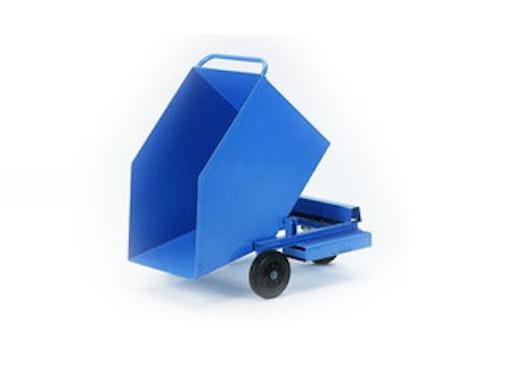 Blechkastenwagen als Spänewagen, mit Staplertaschen (24750)