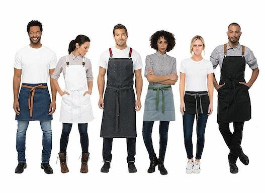 Chef Works®  Gastronomie-Hotel Bekleidung - Urban Vorbinder, Schürzen
