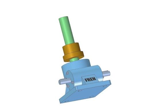 Klassische Spindelhubgetriebe - Laufmutterausführung Oben - SG0015- -L-O