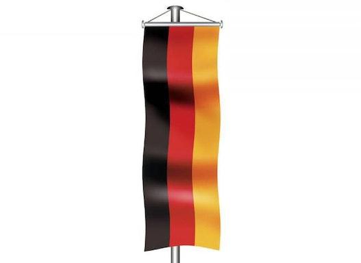 Deutschlandfahne als Bannerfahne