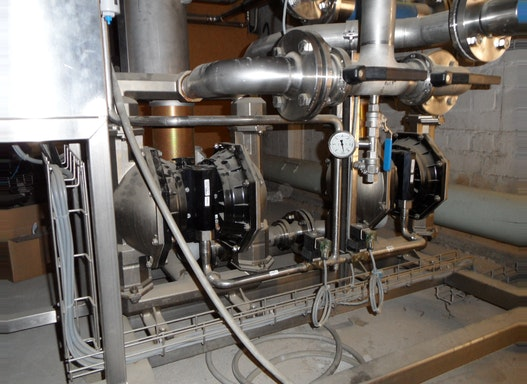 Druckluftbetriebene Doppelmembranpumpen ARO