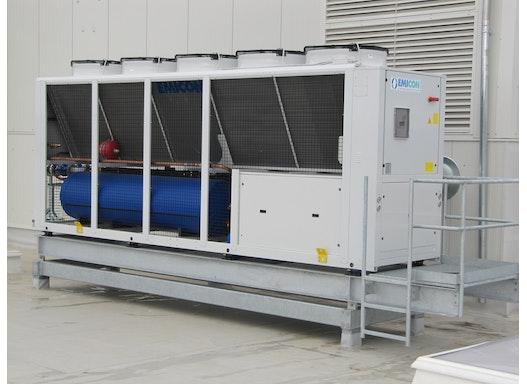 M-RAE-3802-UKC Kaltwassersatz, luftgekühlt in leiser Ausführung zur Außenaufstellung, Qo 380 kW