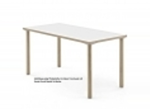 Objekttisch / Holztisch / Rechtecktisch / Konferenztisch ohne Zarge Modell 2080