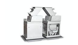STATEC BINDER - SCALPAC-G: Manuelle Absackanlage mit Schwerkraftdosierung