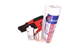WB Klebstoffe ein- und zweikomponentig anwendungsbezogen f.Verklebungen v.Holz,Kunststoffen,Glas,Metall