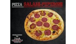 Pizza Salami-Peperoni