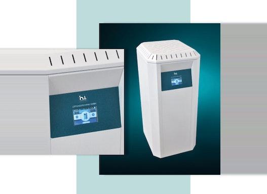 Luftreinigungsstandgerät h.i. Silent Air S