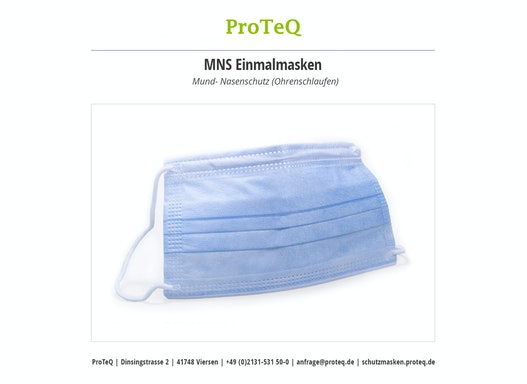 MNS Einmalmasken