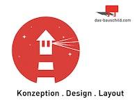 Bauschilddesign, Konzeption, Layout, Immobilienmarketing
