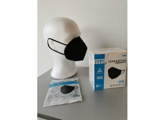 FFP2 Maske schwarz NQX