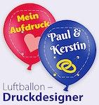 Luftballon Druckdesigner
