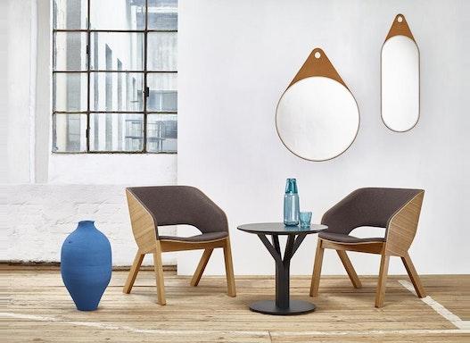 Objektstuhl / Lounge Sessel Merano