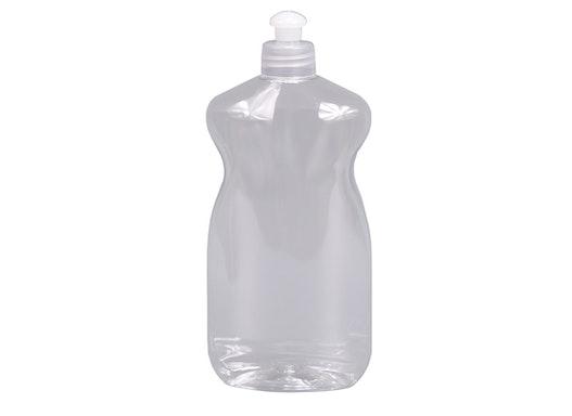 Oval-Flasche 500 ml Typ LAVAGGIO - Polyethylenterephthalat (PET/ rPET)