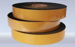 Streifen aus Gummi- und zelligen Werkstoffen