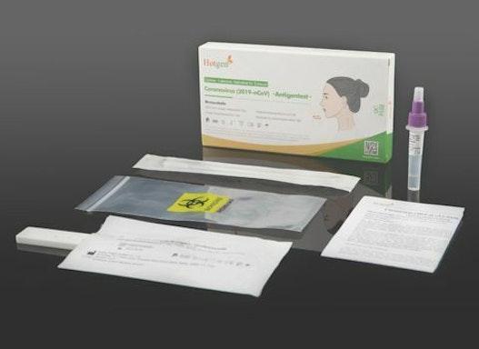 MedRhein TN 12 Antigen Schnelltest ( Nasal ) von Hotgen Biotechnology