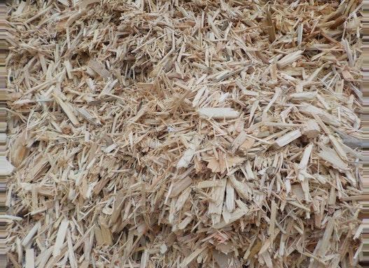 Recycling-Holz Hackschnitzel
