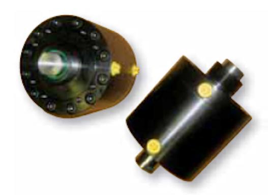 Kurzhubzylinder mit durchgehender Kolbenstange