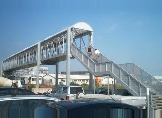 Fachwerk-Rahmenbrücke