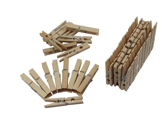 Holzwäscheklammer / Wäscheklammer aus Holz 72mm
