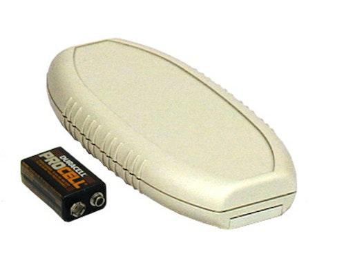Pactec HR-9VB Handgehäuse mit Batteriefach