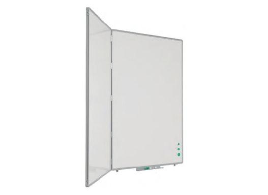 Dreiflächentafel aus emailliertem Stahl, RC Profil