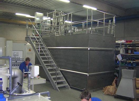 Trockenpolymer Ansetzstation Twindos