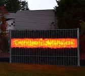 Gabionen Leuchte LED 360° 1,65m RGB+Weiss Fernbedienung #8110