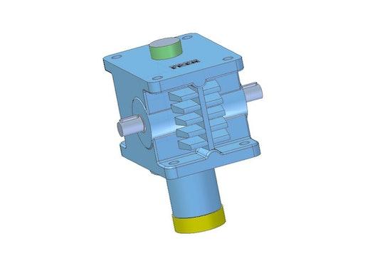 Hochleistungsspindelgetriebe - Grundausführung - HSG0031- -G