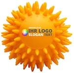 Igelball Massageball gelb bedruckbar