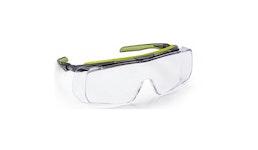 COVERGUARD Overlux Schutzbrille, klar, optimal für Brillenträger, Anti-fog