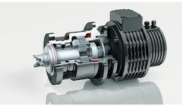 Motor- Getriebekombination