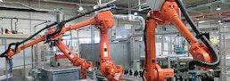 Robotergestütztes Material- und Werkstückhandling