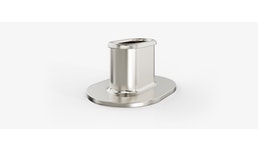 Stützhülsen zur Konststoffverstärkung / runde und ovale Buchsen / Tiefziehteile aus Edelstahl