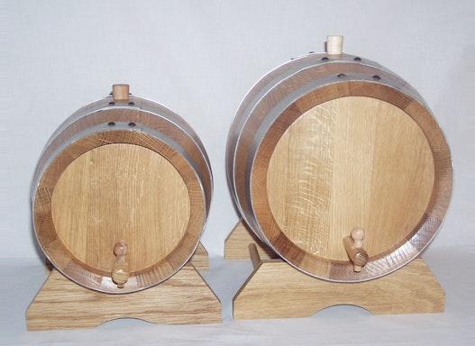 Fässer  mit 5,10 und 15 Liter Inhalt