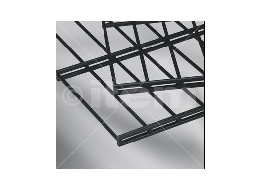 Doppelstabmatte 50x200, 1830x2008, schwarz