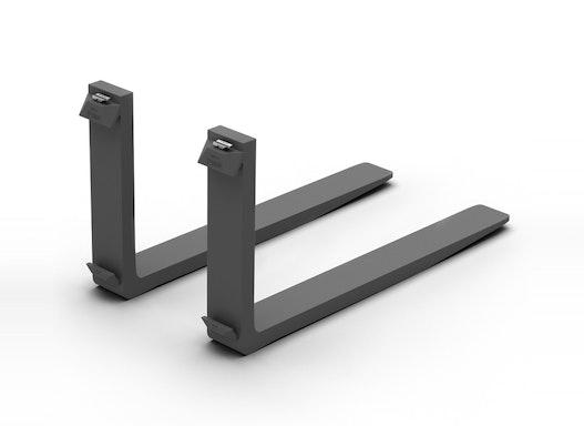 Gabelzinken mit ISO-Aufhängung in FEM 2A I FEM 2B in 80x40 mm und Länge 1.200 mm von VETTER®