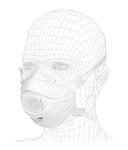 SOLIDMAXX PRO Atemschutzmaske FFP3 mit Ventil NR D