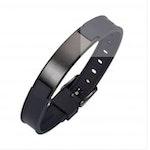 Magnet-Germanium Armband - Pure Black