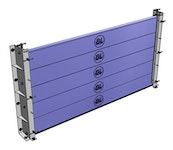 Hochwasserschutztüren - Hochwassersperre BL/HAP-SB 150-80 - Aluminiumprofil 150 x 80 x 4 mm