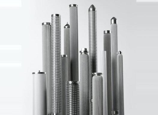 Filtermedien, fertige Filterelemente, komplette Filteranlagen