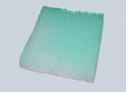Glasfaser-Luftfiltermatte grün