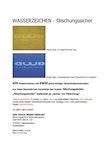 UV Wasserzeichen in alle Papiere – absolut fälschungssicher