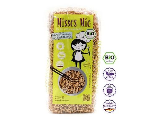 Misses Mie BIO Vollkorn BIO Vollkorn Mienudeln - DE-ÖKO-003 BIO, vegan, 250 g