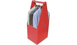 FashionBox®, Versandverpackung für hängende Kleidung, klein, klassisch oder hoch, Gurtmaßoptimiert