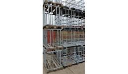 IBC GB 640L Stahl-PE. Holzpalette
